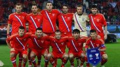 В знак на плашеща носталгия, силно характерна за Путинова Русия, националният отбор си върна червените екипи от времето на Съветския съюз...