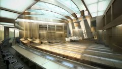 Така изглежда един от идейните проекти за нова пленарна зала на парламента...