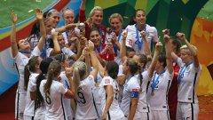 Дамите в националния отбор на САЩ искат да получават, колкото мъжете