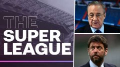 Заедно с Жоан Лапорта, президентите на Реал Мадрид и Ювентус - Флорентино Перес и Андреа Аниели, са най-яростните радетели за създаването на Суперлигата