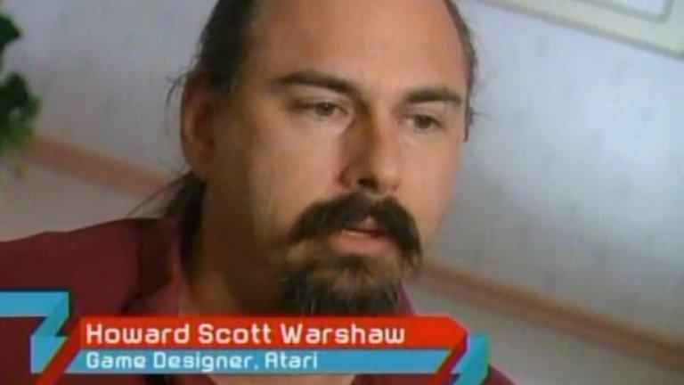 Хауърд Скот Уоршоу - човекът, създал злополучната игра и в късните си години направил кариера като психотерапевт. Днес той признава, че понякога използва историята за собствения си провал, за да помага на пациенти
