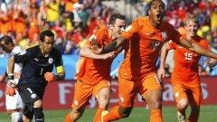 Резервата Фер вкара първия гол за победата на Холандия над Чили с 2:0