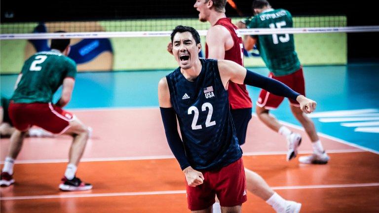 САЩ унижи волейболистите ни с гейм от 25:9