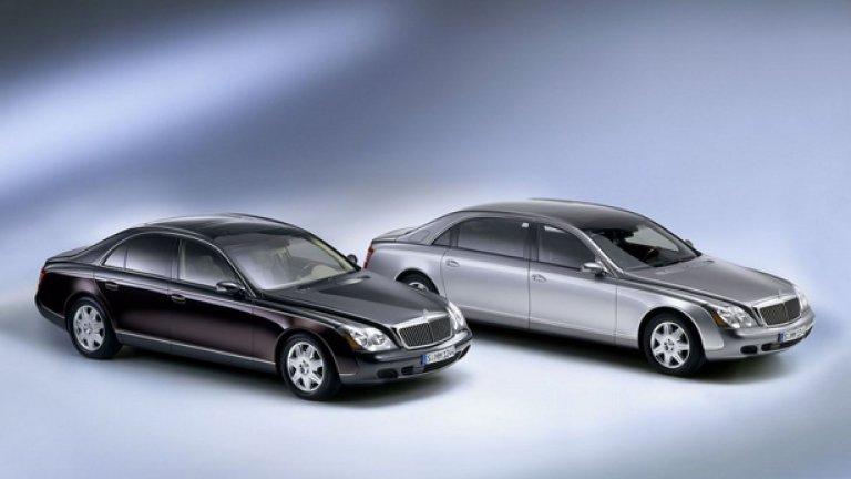 Maybach излезе на пазара с моделите 57 и 62