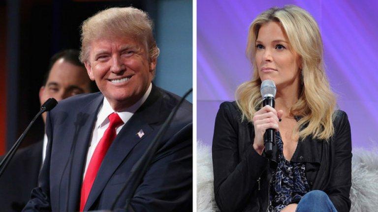 По време на дебата с останалите кандидат-президенти на Републиканската партия Тръмп бе отстранен заради скандал с водещата