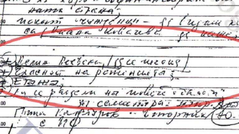 Филип Златанов има полезния навик да си записва. Дали обаче само той е писал в прословутото си тефтерче?