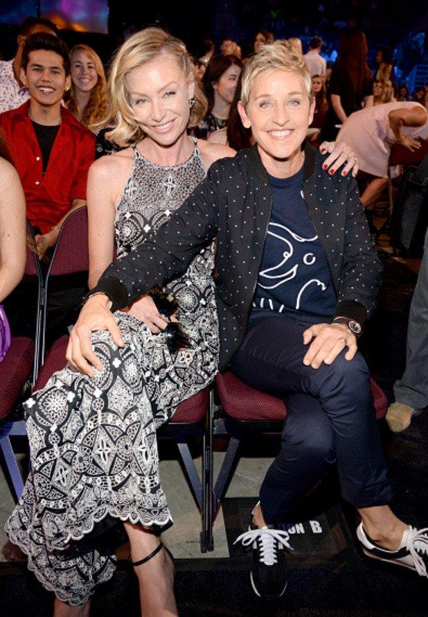 Елън и Порша де Роси са щастлива двойка