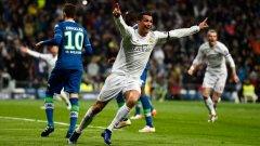 Кристиано Роналдо отбеляза и трите гола за победата с 3:0