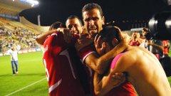 Бившите съотборници на Топчо и Мечо от Апоел (Тел Авив) се радват на головата фиеста срещу неочаквано слабия Железничар (Сараево)