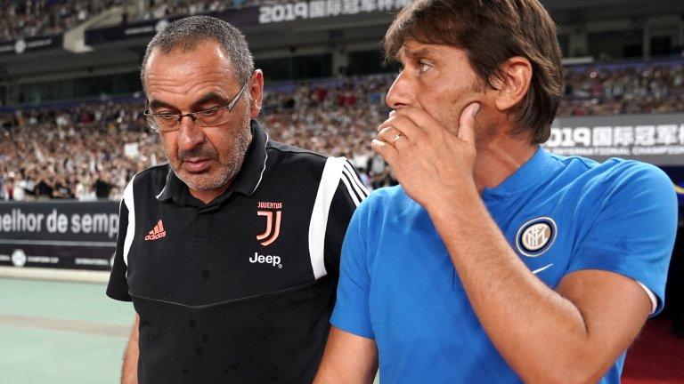 Конте пое Интер през лятото на 2019-а.