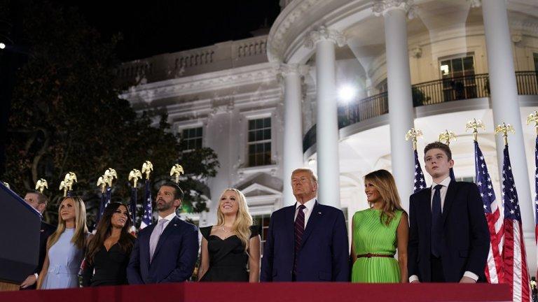 Тръмп официално прие номинацията на Републиканците за кандидат-президент