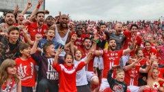 ЦСКА посреща Лудогорец на националния стадион на 5 май