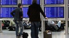 Снеговалежите в цяла Западна Европа затрудниха масово полетите