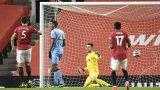 Автогол върна Юнайтед на второто място