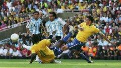 Аржентинците горят от желание за реванш пред собствена публика за загубите от Бразилия в последните два финала на Копа Америка
