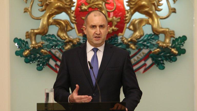 Румен Радев призова за оставка на правителството и честни избори