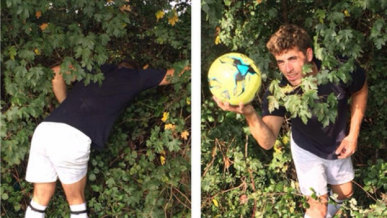 Няма деца, които подават топката. А в много случаи има и една топка, така че който я прати в храстите, трябва да си я търси.