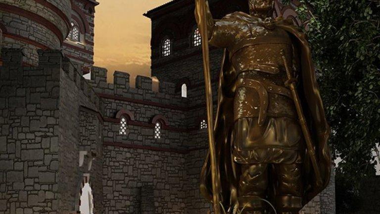 Статуята на цар Иван Асен І