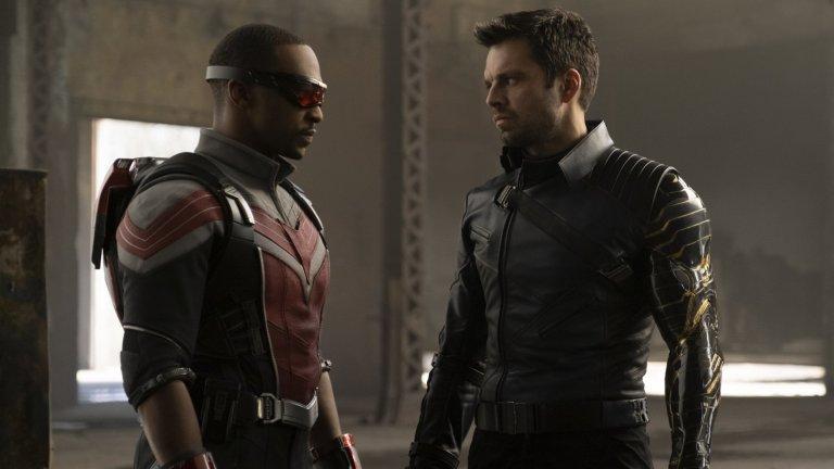 За Роджърс/Капитан Америка пък е избран синеокият Крис Еванс и двамата се изправят един срещу друг в Captain America: The Winter Soldier (2014 г.).  Десетилетие по-късно Еванс вече се пенсионира от ролята на Роджърс. За разлика от него Стан продължава да играе Бъки/Зимния войник и имаше основна роля в минисериала The Falcon and The Winter Soldier. Вероятно ще продължим да го виждаме и в следващите Marvel продукции, защото, както сам казва, докато продължават да му се обаждат, той винаги ще е на линия.