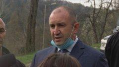 Президентът е категоричен, че за спазването на мерките трябва да се разчита на отговорността и съзнанието на българина