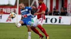 ЦСКА победи Осиек с голяма доза късмет, след което отпадна от украинския Зоря.