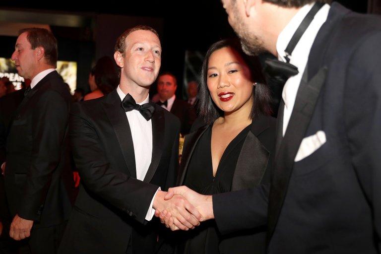Марк заедно с Присила Чан