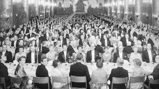 Шведски ресторант предлага всяко меню, сервирано на Нобеловия банкет от 1922 г. насам