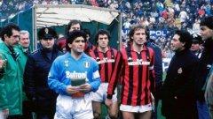 Диего Марадона е единственият футболист в историята, който чупи трансферния рекорд два поредни пъти.