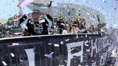"""Преди година Купа """"Стенли"""" се къпеше в слънцето на Калифорния - Лос Анджелис Кингс я спечели. Сега обаче шампионите дори не стигнаха до плейофите."""