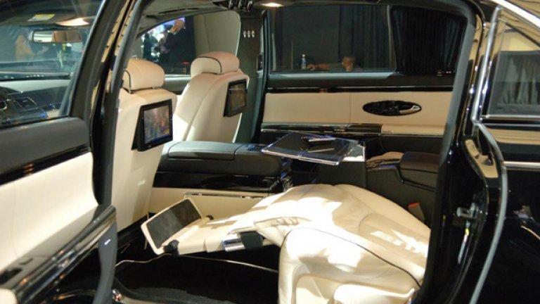 Maybach глези пътниците с качествен интериор