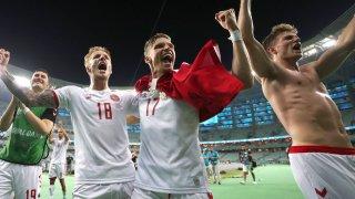 """За колектив като датския няма нищо невъзможно на това първенство. Но следващото предизвикателство е меко казано внушително: Англия, и то на """"Уембли"""""""