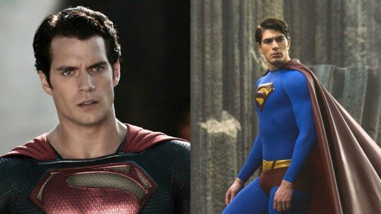 Хенри Кавил показа първата си интерпретация на Супермен през 2013 г. на мястото на Брендън Раут, който за последно игра в ролята на Кларк Кент през 2006 г.