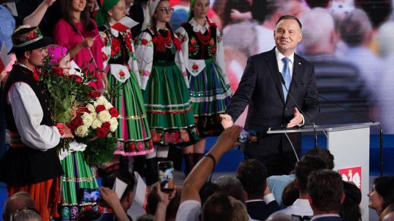 Настоящият президент печели 41,8% от гласовете, които не са достатъчни, за да спечели изборите без втори тур.