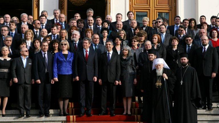 """""""Семейната снимка"""" пред Народното събрание"""
