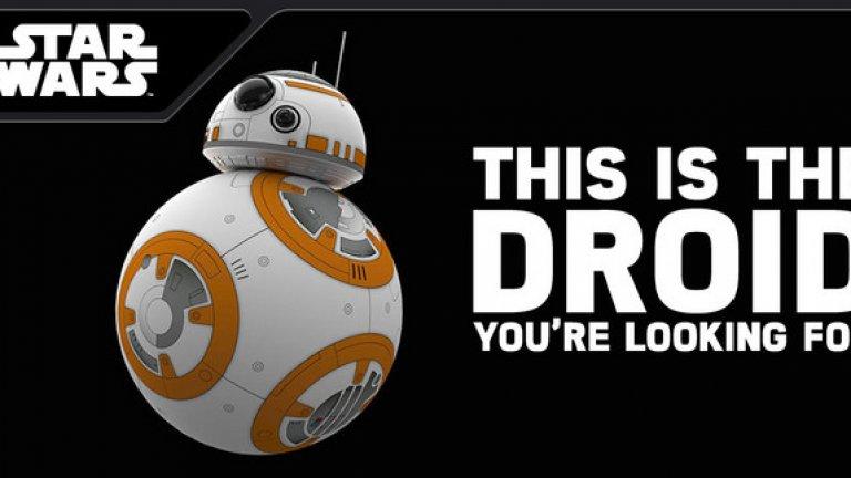 """В продажба са различни версии на новия дроид BB-8 от """"Междузвездни войни"""", който ще става все по-популярен покрай излизането на новия филм от сагата по-късно през декември."""