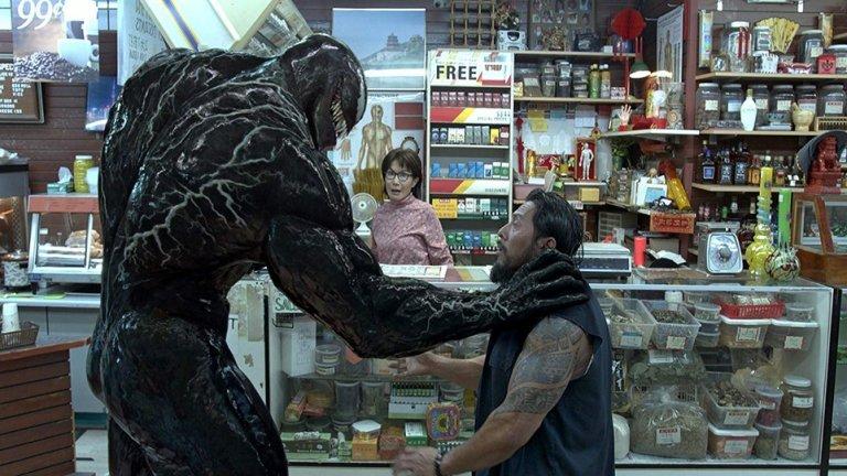 Venom 2  Премиера: октомври 2020 г.   И още един от анти-героите от комиксите за Спайдър-мен ще се върне на екран през следващата година - Еди Брок/Venom. Наред с Том Харди ще видим още Уди Харелсън в образа на Carnage, Мишел Уилямс и др.