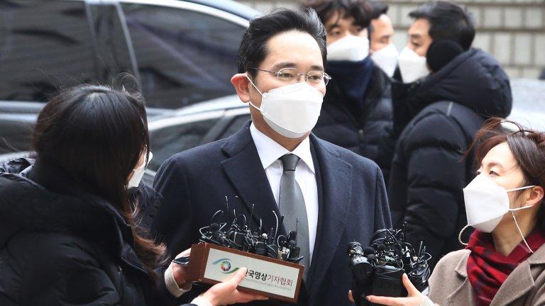 Лий Джей-Йонг бе осъден заради участието му в корупционния скандал, довел до свалянето на тогавашния президент на Южна Корея