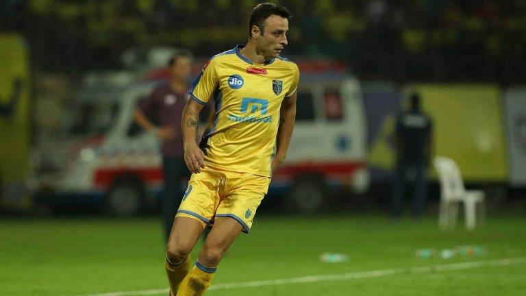 Бербатов не прекара най-успешния си период като на терена като играч на Керала.