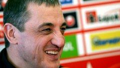 Босът на ЦСКА Димитър Борисов не губи усмивката си при всичките скандали, съпътстващи управлението му