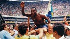 Кралят на футбола спечели цели три световни титли с Бразилия