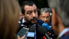 """""""Защитата на Италия не е престъпление. Гордея се с това, бих го направил отново и ще го направя отново"""", каза той пред медиите."""
