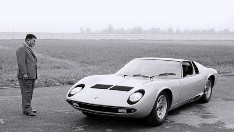 Феручо Ламборгини и любимия му модел на Lamborghini - Miura