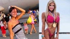 Катерина Лаптева е прекалено слаба дори за гимнастичка, преди да започне да се занимава с културизъм и да осъзнае истинския смисъл на храната