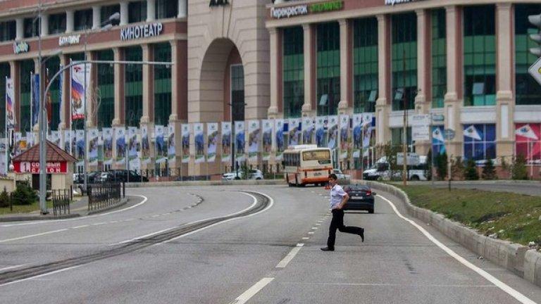 Пешеходни пътеки не са необходими в Сочи, така или иначе пешеходците са рядкост