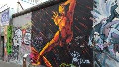 Берлин е превърнат в огромна открита галерия на най-мащабните, майсторски и изобретателни графити, които можете да видите