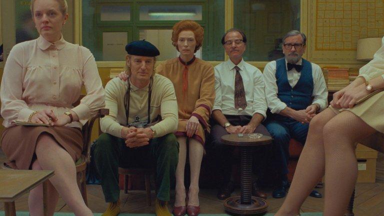 """Фаворит ли ще бъде новият филм на Уес Андерсън за """"Оскар"""" догодина? Доста вероятно. Освен характерният стил на режисьора, филмът е запасен и с огромно количество актьорски талант."""