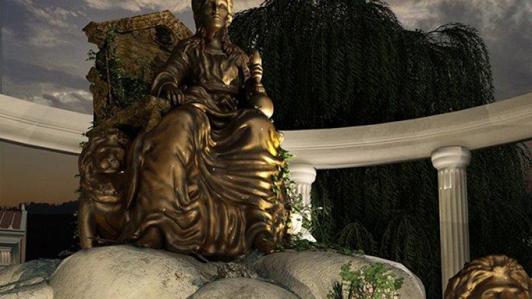 Така ще изглежда статуята на богинята Кибела, почитана от траките като майка на Земята и всичко живо