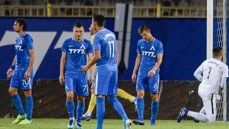 """От 0:4 срещу Лацио до 0:4 срещу АЕК Ларнака, на """"Герена"""" се промени всичко и същевременно почти нищо"""
