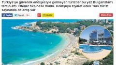 Турският вестник Миллиет: Туристите отидоха в България