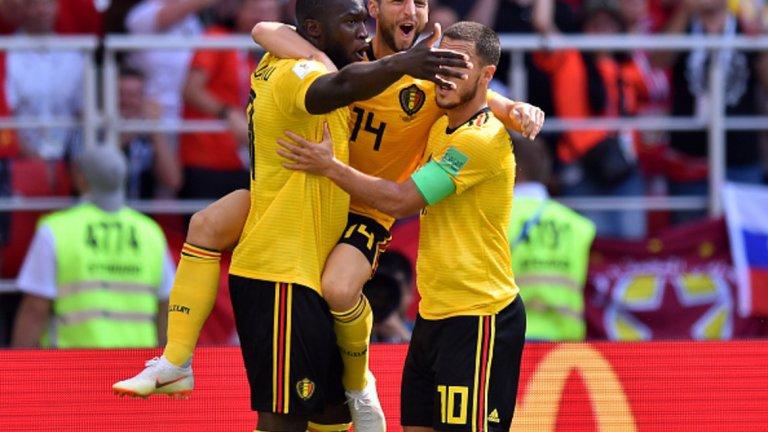 Великолепно представяне на Белгия